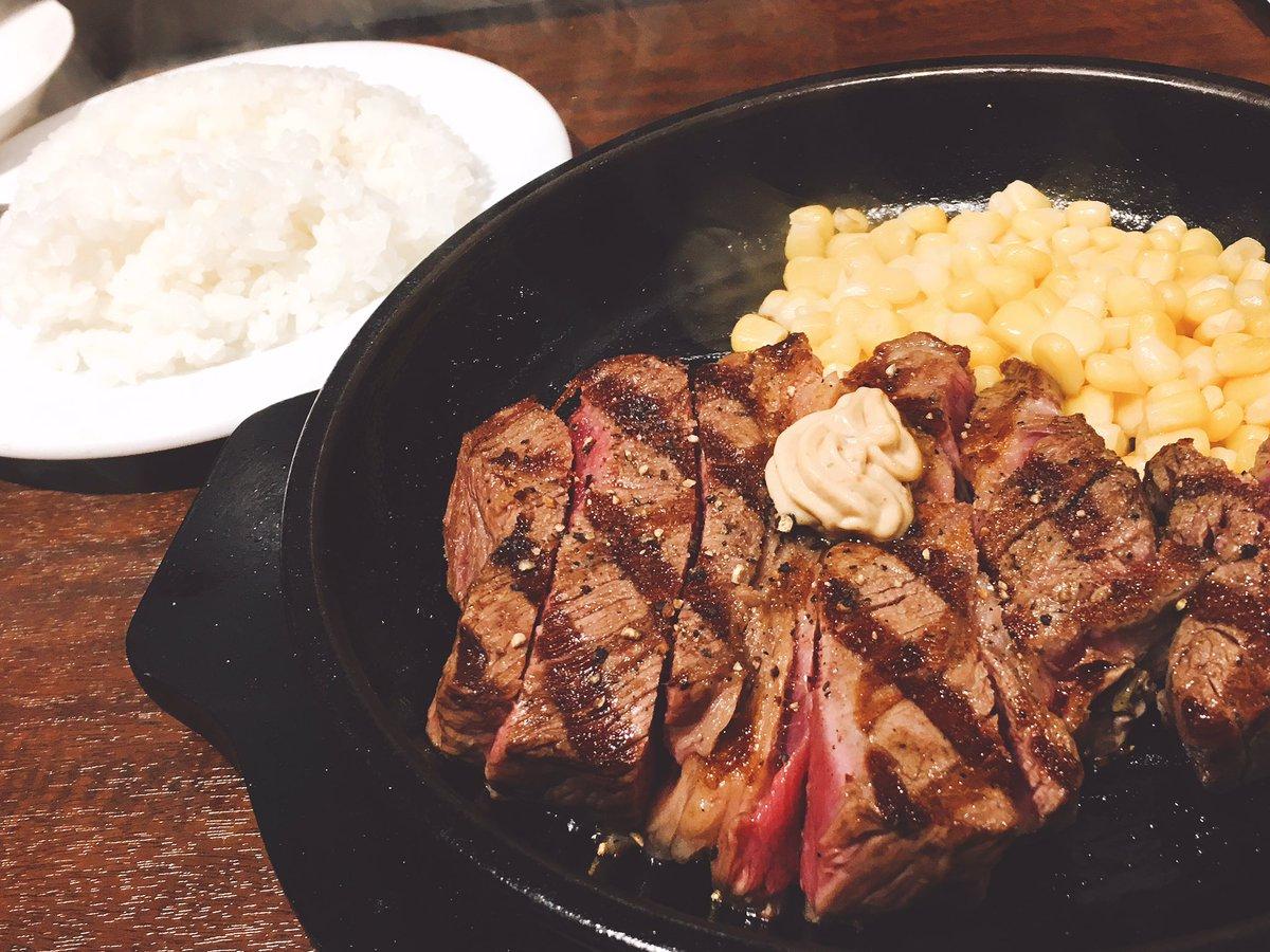 手軽にたんぱく質摂りたいなら『いきなりステーキ』に限るわ