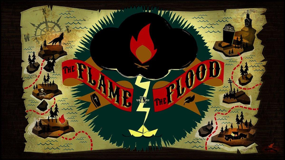 【ザフレイムインザフラッド】『The Flame In The Flood』買ったけどシビアでガツガツ死ぬし面白い