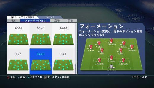 【FIFA19】「ダイナミック戦術」でシステムを可変させるメリットとデメリット