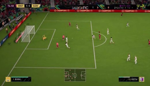 【FIFA20】新要素「コンポーズフィニッシュ」のおかげで正確に枠内に飛ばせばゴールが決まりやすくなったぞ
