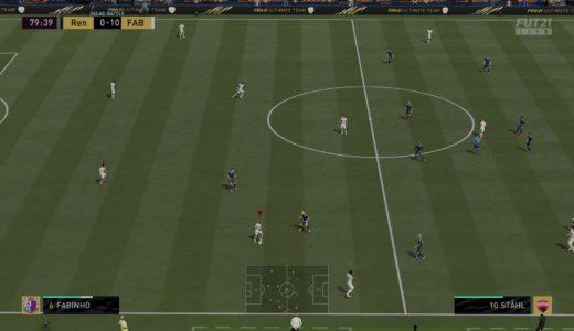【FIFA21】「トリガーラン」で周りの選手を走らせて攻撃に厚みを作る
