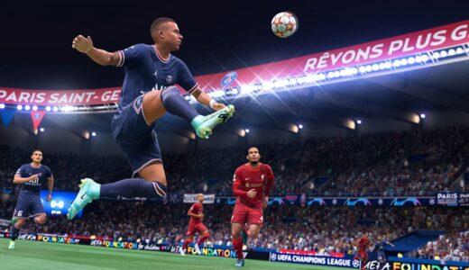 【FIFA22】FIFA22の感想。戦術設定がより細かくでき、パス主体でよりリアルさが生まれてきた良作